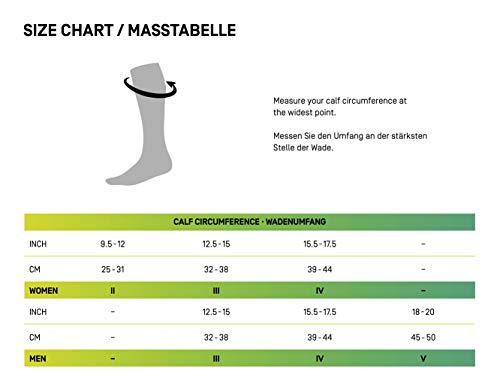 CEP – Calf Sleeves 3.0 für Herren |Beinstulpen für exakte Wadenkompression in blau/grau | Größe III - 6