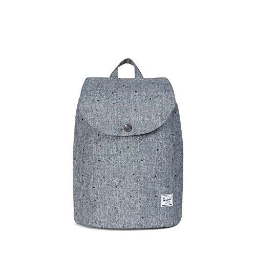 Herschel 10021-00007 Post Backpack Rucksack, 1 Liter, Blau(Navy/Tan Synthetic Leather Backpack)