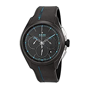 Rado Hyperchrome XXL Chronograph Black Dial Watch R32525159 Reviews and For Sale and review image