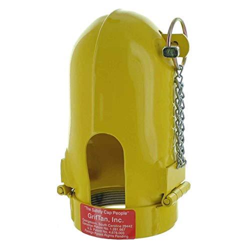 Gas Cylinder Regulator Protector Safety Cap Fine Thread 3-1/8 x 11