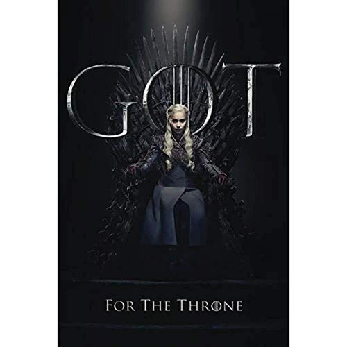 Poster Game Of Thrones Daenerys For The Throne - 91x61cm