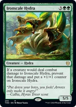 Magic: the Gathering - Ironscale Hydra - Idra Dalle Scaglie di Ferro - Theros Beyond Death