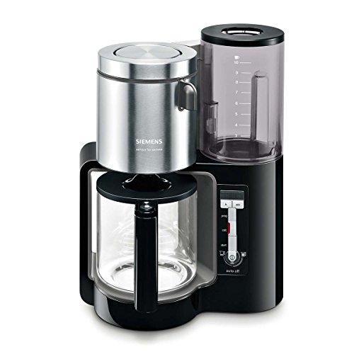 Siemens TC86303 Kaffeemaschine, 1160 Watt, 10-15 Tassen, schwarz