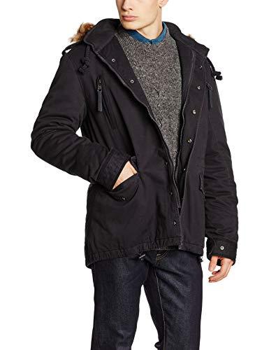 Brandit Ayden Jacket Men Chaqueta, Negro, L para Hombre