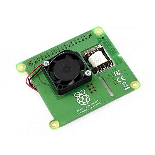 HUANGMG Barebones PC Fit für PI-Leistung über Ethernet-Hut Fit für Raspberry Pi 3B + / 4B und 802.3AF PoE Network