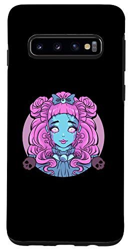Galaxy S10 Pastel Goth Porcelain Doll Crying Tears Case -  Pastel Goth Porcelain Doll Crying Tears Designs