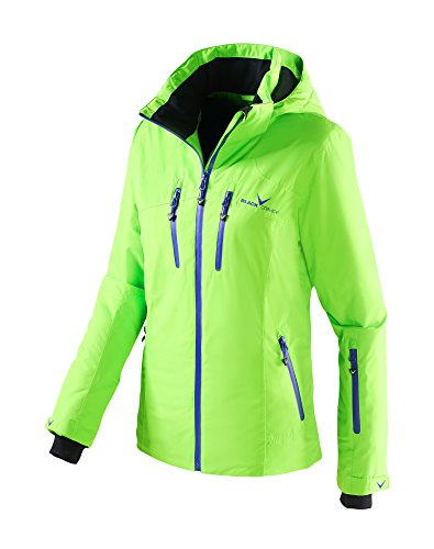 Black Crevice Damen Skijacke, Grün/Liberty, 42, BCR251006