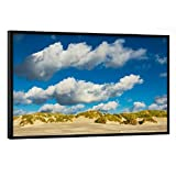 artboxONE Poster mit schwarzem Rahmen 60x40 cm Natur Dünen