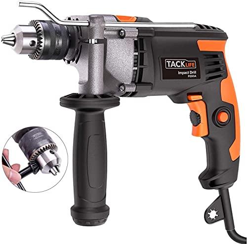 Hammer Drill,TACKLIFE Upgraded 7.1Amp/3000Rpm...