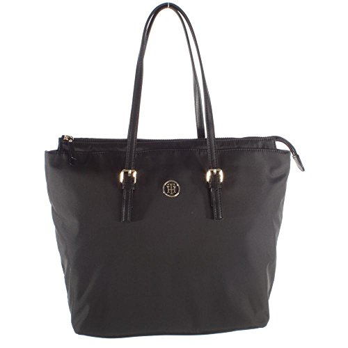 Tommy Hilfiger handtas modern nylon tote 100 AW0AW03478 002 zwart dames tas