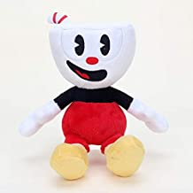 TANGGOOO Video Game Cup Mugman Plush Ch Boss The Devil Stuffed Plush Doll Toys Boy Must Haves 5 Year Old Girl Gifts My Favourite Toddler Superhero Animators Collection