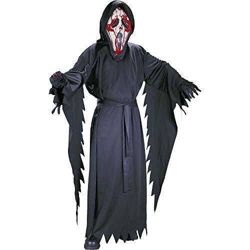 Child Bleeding Ghost Face Costume Medium