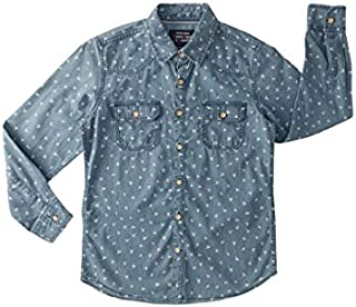 DJ & C By Fbb Printed Casual Shirt Indigo