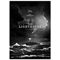 Ipea 灯台映画2019絵画ポスターとプリントキャンバス壁アート写真ホームルームの装飾(19.69X27.56インチ)50X70Cmフレームなし