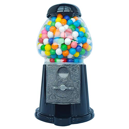 Great Features Of Gumball Dreams Classic Gumball Machine/Candy Dispenser, 15 Inch - Black