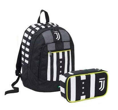 Juventus SchoolPack Winner Forever Zaino più astuccio 6B6002004-899 Seven