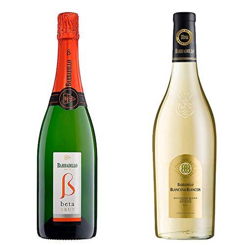 Beta Brut y Blanco de los Blancos - Bodegas Barbadillo - 2 botellas de 750 ml