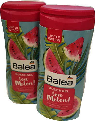 Balea love Melon! Melonenduft Duschgel 2 x 300 ml Limited Edition