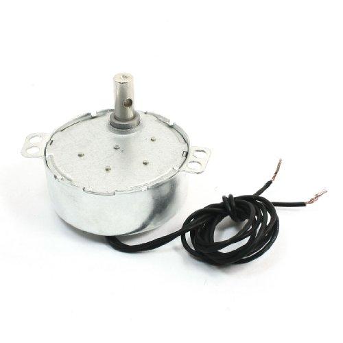 Sourcingmap - Ac 220v-240v 4w 5-6rpm ccw/cw motor eléctrico síncrono de reloj rotatorio