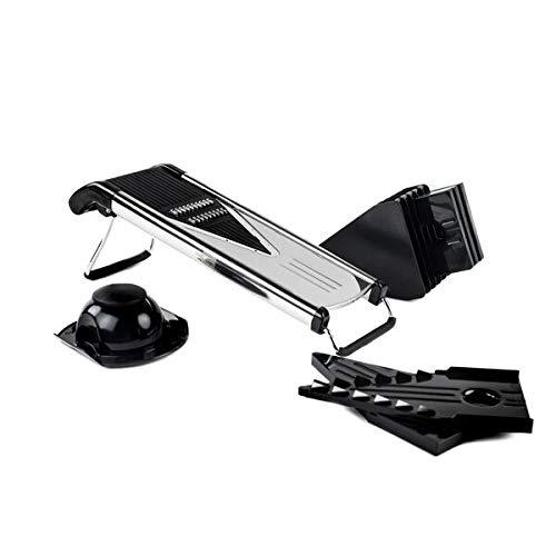 Chop Chop! Mandoline V-Slicer Commercial Grade Stainless Steel (6 Blade Set)