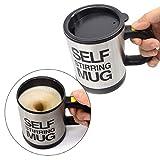 Zeerkeer Self Stirring Coffee Mug Cup Edelstahl Automatische Selbstmischung & Spinnen Home Office...