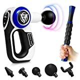 EA Massage Gun - Deep Tissue Percussion Massager - Professional Handheld Massager - Massager Gun for Body, Back, Neck & Shoulder - Muscle Massage Gun for Athletes - Massage Guns with Massage Roller
