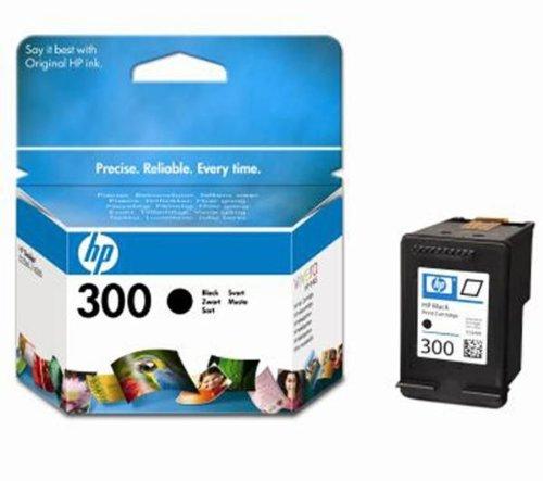 HP 300 - Cartucho de Tinta para impresoras (Negro, 200 pá