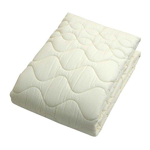 東京西川ベッドパッドシングル洗える抗菌防臭四隅ゴム付き寝心地アップベージュCNI0601701BE