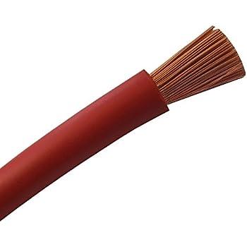 Schnitt Meterware nach Ihren W/ünschen Batteriekabel Aderleitung ROT H07V-K 6//10//16//25//35 oder 50 mm/²- KFZ Batterie Kabel OFC 100/% Kupfer 6mm2-10mm2-16mm2-25mm2-35mm2-50mm2