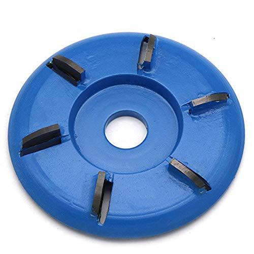 Dastrues Frässcheibe Für Winkelschleifer Holz 90mm Arc/Flat Plane Zähne Holz Turbo Carving Disc Fräser Werkzeuge für 16mm / 22mm Winkelschleifer