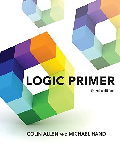 Logic Primer, third edition (English Edition)
