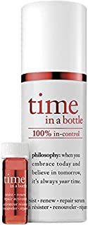 Philosophy Time in a Bottle 100% In-Control Repair Renew Resist Daily Age-Defying Serum 0.85oz