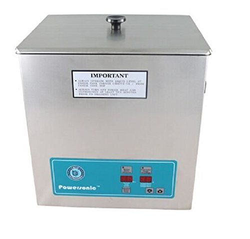 Crest Powersonic P1100H 45kHz Ultrasonic Cleaner Power Control With Basket