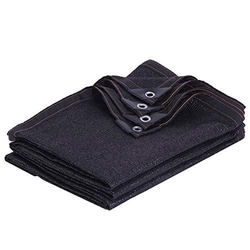 Noir 95% Taux D'ombrage Anti-âge De Plein Air Serre Patio Balcon Filet D'ombrage, 23 Tailles (Color : Black, Size : 5×10m)