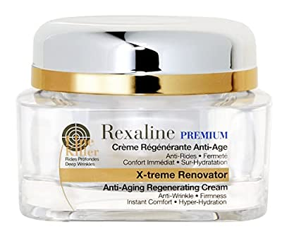 Rexaline - X-treme Renovator - Anti-Aging Regenerating Cream - Anti Wrinkle Cream with Hyaluronic Acid - Moisturizing, Nourishing, Soothing - Youth Facial care - Primer - Cruelty Free - 50ml by Rexaline