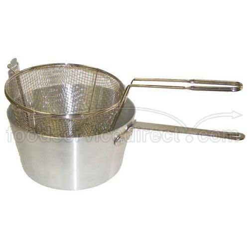 Johnson Rose Round Fryer Pot Set, 7 Quart - 5679 Fryer Basket - 1 each.