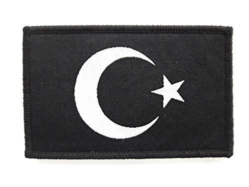 1 x Türk Asker Patch ca.8cm x 5cm Aufnäher mit Klettverschluss Türkische Spezialeinheit Özel Tim Türkiye Türkei Armee Aufbügler Börü Ayyildiz für T Shirt Cap Pullover Kiyafet