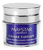 Maystar Skincare | Crema Facial Revitalizante Reafirmante con Extracto de Caviar | Caviar Therapy | 50 ml