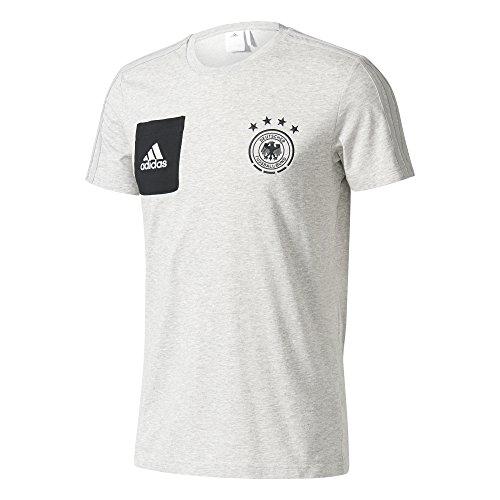 adidas T Shirt du Staff DFB pour Homme S Gris chiné MoyenNoir