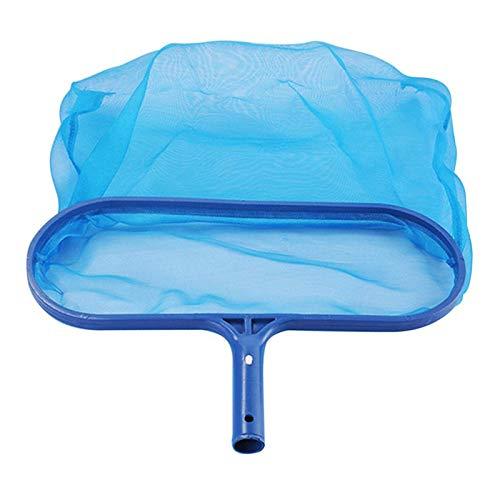 BianchiPamela Swimming Pool Spa Pond Leaf Skimmer Mesh Sturdy Plastic Frame Head Surface Net