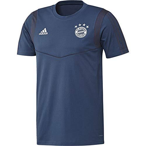 adidas Herren FCB Tee Unterhemd, braun/blau, 2XL