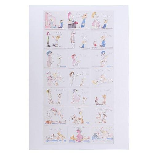 Udo Lindenberg - Kunstdruck Udo und die Frauen (in 60 cm x 80 cm)