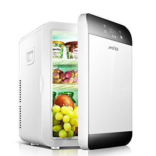 NCBH draagbare koelkast met 20 liter en koelbox, compact en stil, stroomvoorziening AC 220 V + DC 12 V, geschikt voor binnen en buiten
