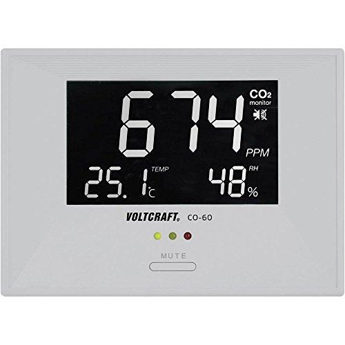 Kohlendioxid-Messgerät VOLTCRAFT CO-60 0-3000 ppm