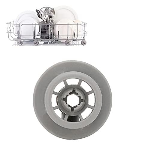 Rueda para lavavajillas, Bien Probada Rueda de Rejilla Inferior para lavavajillas de ABS para lavavajillas Compatible con lavavajillas Bosch