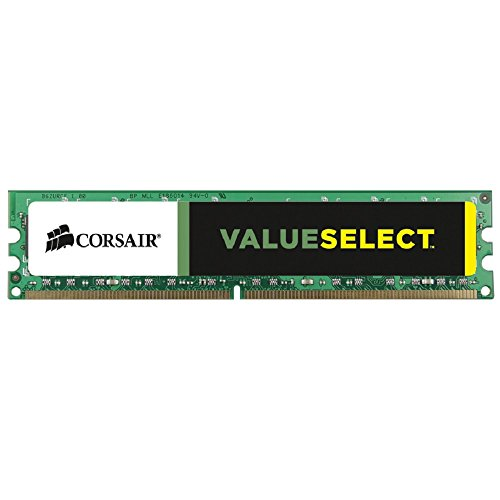 Corsair CMV8GX3M1A1333C9 Value Select 8GB (1x8GB) DDR3 1333 Mhz CL9 Standard Desktop Memory