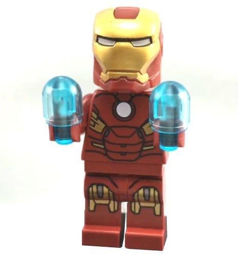 LEGO Figura de minifigura de Iron Man 10721 Ironman Marvel Vengadores juguete