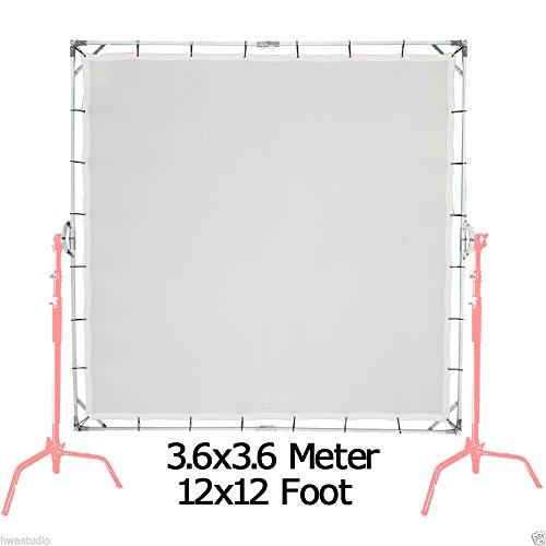 3.6X3.6M 12'X12' Sun-Scrim Schmetterling Kit mit transluzenten 1/3 Bildschirm Sunbounce S