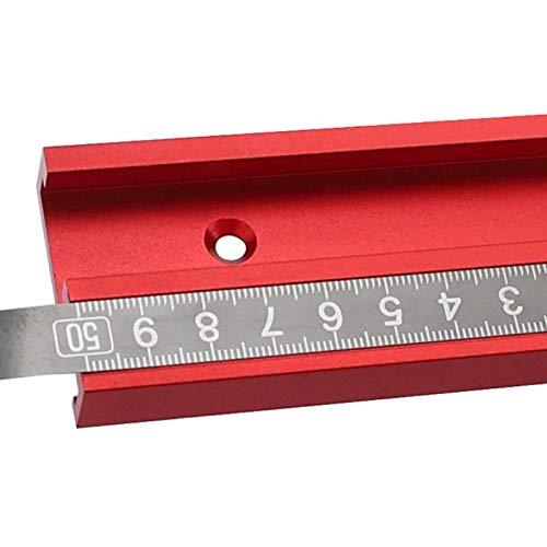 Cinta métrica de Acero Inoxidable para riel de inglete de 1-3 m Regla de Escala métrica autoadhesiva Regla Duradera a Prueba de óxido y Resistente al Desgaste - de Derecha a Izquierda 1 m