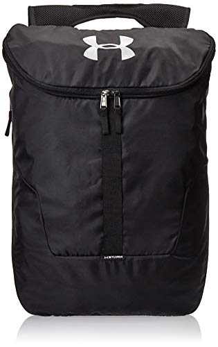 Under Armour Expandable Sackpack Rucksack, Black, OSFA, 35 x 50 x 10 cm, 25 L